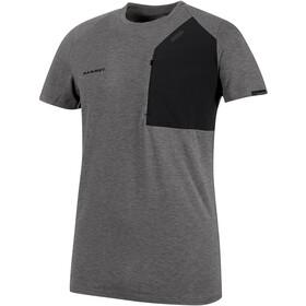 Mammut M's Crashiano Pocket T-Shirt Herr black mélange-black